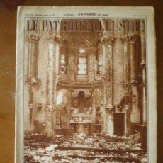 Coleccionismo de Revistas y Periódicos: LE PATRIOTE ILLUSTRE Nº 12 (22/03/36) GUERRA CIVIL MADRID VALENCIA PUENTE DE VALLECAS . Lote 24578614