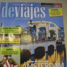 Coleccionismo de Revistas y Periódicos: REVISTA DEVIAJES Nº 102/OCTUBRE 2007. ARTICULOS AMSTERDAM, JAPON, TOLEDO, FRANCIA,.... Lote 10475298