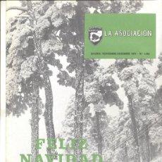 Coleccionismo de Revistas y Periódicos: REVISTA LA ASOCIACION FERROCARRILES RENFE 1975. Lote 10484018