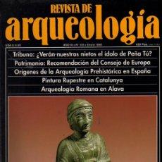 Coleccionismo de Revistas y Periódicos: REVISTA DE ARQUEOLOGIA Nº 105 ENERO 1990. Lote 10489422