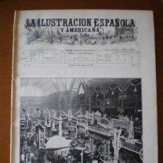 Coleccionismo de Revistas y Periódicos: ILUSTRACION ESPAÑOLA/AMERICANA (15/01/1907) PARIS AUTOMOVIL EXPOSICION INTERNACIONAL. Lote 25892720