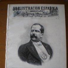 Coleccionismo de Revistas y Periódicos: ILUSTRACION ESPAÑOLA/AMERICANA 22/03/1907 MARRUECOS TANGER MEJICO SPITZBERG ALFONSO XII TOLON . Lote 25870419