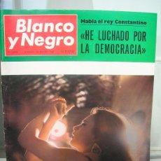 Coleccionismo de Revistas y Periódicos: REVISTA BLANCO Y NEGRO. JOSEFA COTILLO MARTINEZ LA POLACA . REY CONSTANTINO. Lote 10603274