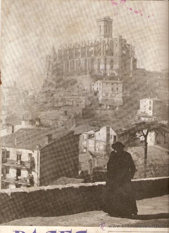 AÑO 1958 MANRESA LA SEU PROYECTO TUNEL DEL CADI SEPULCRO ROMANO DE BOADES BAGES (Coleccionismo - Revistas y Periódicos Modernos (a partir de 1.940) - Otros)