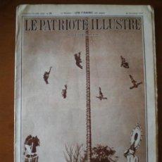 Collezionismo di Riviste e Giornali: LE PATRIOTE ILLUSTRE Nº 39 (26/09/37) GUERRA CIVIL POTES SANTANDER CANTBRIA GIJON UNQUERRO. Lote 178756321