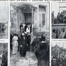 Coleccionismo de Revistas y Periódicos: BILBAO 1915 REINA 2 HOJAS REVISTA. Lote 24535095