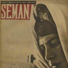 Coleccionismo de Revistas y Periódicos: SEMANA NUM. 157 , 23 FEBRERO 1943 , GUERRA MUNDIAL RS10. Lote 10735320