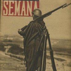 Coleccionismo de Revistas y Periódicos: SEMANA NUM. 94 , 9 DICIEMBRE 1941 , GUERRA MUNDIAL RS55. Lote 23394822