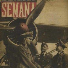 Coleccionismo de Revistas y Periódicos: SEMANA NUM. 41 , 3 DICIEMBRE 1940 , GUERRA MUNDIAL RS64. Lote 21050962