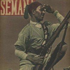 Coleccionismo de Revistas y Periódicos: SEMANA NUM. 29 , 10 SEPTIEMBRE 1940 , GUERRA MUNDIAL RS67. Lote 25083408