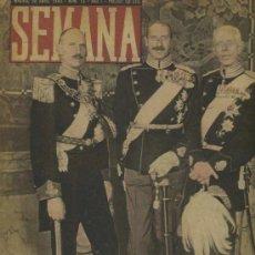 Coleccionismo de Revistas y Periódicos: SEMANA NUM. 10 , 30 ABRIL 1940 , GUERRA MUNDIAL RS75. Lote 25083405
