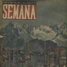 Coleccionismo de Revistas y Periódicos: SEMANA NUM. 9 , 23 ABRIL 1940 , GUERRA MUNDIAL RS76. Lote 23996750