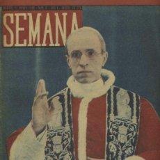 Coleccionismo de Revistas y Periódicos: SEMANA NUM. 3 , 12 MARZO 1940 , GUERRA MUNDIAL RS79. Lote 23996748