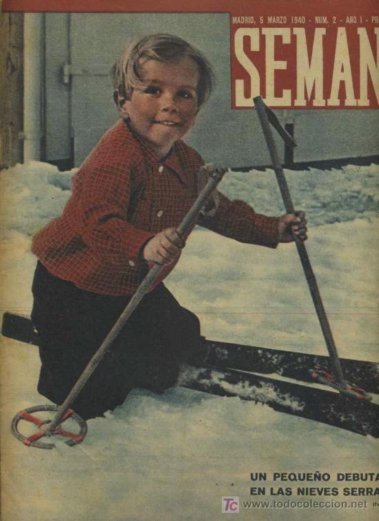 SEMANA NUM. 2 , 5 MARZO 1940 , GUERRA MUNDIAL RS80 (Coleccionismo - Revistas y Periódicos Modernos (a partir de 1.940) - Otros)
