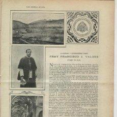 Coleccionismo de Revistas y Periódicos: REVISTA . AÑO 1903. DUCADO DE GANDIA Y SU COLEGIATA. OBISPO DE JACA. FRANCISCO J. VALDES. FOTOS JACA. Lote 25633444