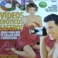 Coleccionismo de Revistas y Periódicos: REVISTA CNR Nº 57, NOVIEMBRE 2001. CÓMO PREVENIR EL DOLOR DE ESPALDA, VIDEOS ERÓTICOS CASEROS,.... Lote 10787962