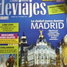 Coleccionismo de Revistas y Periódicos: REVISTA DEVIAJES Nº 103 / NOVIEMBRE 2007. MADRID, LA CIUDAD NUNCA DUERME, FINLANDIA,.... Lote 10787972