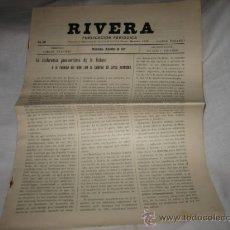 Coleccionismo de Revistas y Periódicos: RIVERA PUBLICACION PERIODICA MONTEVIDEO DICIEMBRE DE 1927 .-Nº 207. Lote 11679799