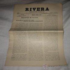 Coleccionismo de Revistas y Periódicos: RIVERA PUBLICACION PERIODICA MONTEVIDEO SEPTIEMBRE DE 1927 .-Nº 204. Lote 11679801