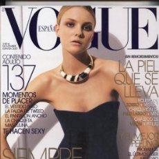 Coleccionismo de Revistas y Periódicos: 'VOGUE' EDICIÓN ESPAÑA. NOVIEMBRE 2007. 370 PÁGINAS.. Lote 18167989