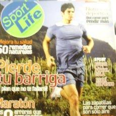 Coleccionismo de Revistas y Periódicos: REVISTA SPORT LIFE Nº 81, ENERO 2006. PIERDE TU BARRIGA, MEJORA TU SALUD, Y MÁS,.... Lote 10893610
