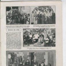 Coleccionismo de Revistas y Periódicos: REVISTA. AÑO 1915.25.FOTOS DE SABADELL.TEIA.ARENYS DE MAR.AERODROMO DE GETAFE.AVIACION.OROTAVA.CANAR. Lote 27029233