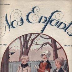 Coleccionismo de Revistas y Periódicos: NOS ENFANTS Nº 20. HIVER 1931. REVISTA DE MODAS. Lote 16038869