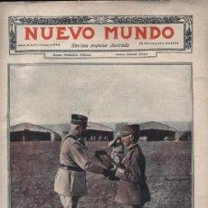 Coleccionismo de Revistas y Periódicos: NUEVO MUNDO. REVISTA POPULAR ILUSTRADA Nº 1245. 16 NOVIEMBRE DE 1917. Lote 18268037
