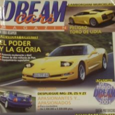 Coleccionismo de Revistas y Periódicos: REVISTA DREAM CARS Nº 40, OCTUBRE 2001. LAMBORGHINI MURCIELAGO, CHEVROLET CORVETTE,.... Lote 24078731