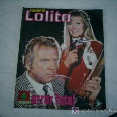 Coleccionismo de Revistas y Periódicos: FOTONOVELA LOLITA ,Nº 133. Lote 25662822