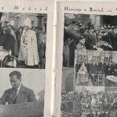 Coleccionismo de Revistas y Periódicos: REVISTA.AÑO 1928.2.VATICANO .CRISTO REY.RAMON FRANCO. AVIACION. CADIZ BUENOS AIRES.SANTIAGO RUSIÑOL.. Lote 26905938