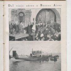 Coleccionismo de Revistas y Periódicos: 1926 AVIACION ESPAÑOLA FRANCO CADIZ BUENOS AIRES SABADELL SANTO DOMINGO DE LA CALZADA LA RIOJA. Lote 26905897