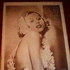 Coleccionismo de Revistas y Periódicos: CRÓNICA - 17 NOVIEMBRE 1935 - EL AFFAIRE STAVISKY, JUAN IGNACIO POMBO, ........... Lote 19253479