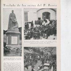 Coleccionismo de Revistas y Periódicos: REVISTA AÑO 1930 SEMANA SANTA ANGUSTIAS JERUSALEN SEVILLA CRISTO DE LAS AGUAS FERRIS GANDIA. Lote 26767242