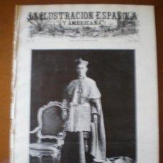 Coleccionismo de Revistas y Periódicos: ILUSTRACION ESPAÑOLA/AMERICANA (22/09/1908) SANTILLANA SANTANDER MARRUECOS TANGER ZARAGOZA CAZA . Lote 25870421