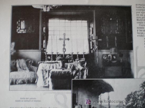 Coleccionismo de Revistas y Periódicos: SANTILLANA (SANTANDER): BAUTIZO DEL INFANTE CARLOS-MARIA (3 FOTOS) - Foto 6 - 25870421