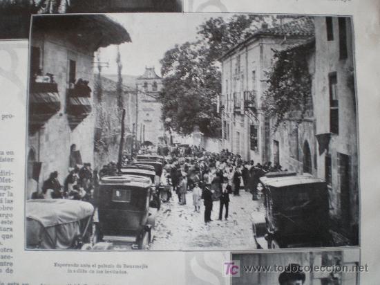 Coleccionismo de Revistas y Periódicos: SANTILLANA (SANTANDER): BAUTIZO DEL INFANTE CARLOS-MARIA (3 FOTOS) - Foto 5 - 25870421