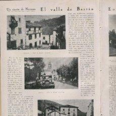 Coleccionismo de Revistas y Periódicos: 1930 VALLE DE BAZTAN NAVARRA ALMANDOZ IRURITA LA PALOMA DE AGRES VILLANUEVA DE ALAVA LOCOMOTORA. Lote 26656925