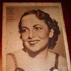 Coleccionismo de Revistas y Periódicos: CRÓNICA - 20 OCTUBRE 1935 - PORTADA: OLIVIA DE HAVILLAND,........... Lote 11214435