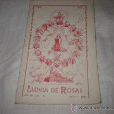 Coleccionismo de Revistas y Periódicos: LLUVIA DE ROSAS AÑO XIII Nº 147 AGOSTO 1935 . Lote 11332350