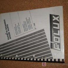 Coleccionismo de Revistas y Periódicos: FOLUX DE 1990, DE 50 PAG, DESPIECE GENERAL.. Lote 17938770
