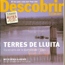 Coleccionismo de Revistas y Periódicos: DESCOBRIR CATALUNYA. Nº 62, 02-2003. REVISTA MENSUAL O BIMESTRAL. EN CATALÀ. Lote 11538853
