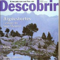 Coleccionismo de Revistas y Periódicos: DESCOBRIR CATALUNYA. Nº 49, 12-2001. REVISTA MENSUAL O BIMESTRAL. EN CATALÀ. Lote 11539278
