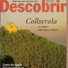 Coleccionismo de Revistas y Periódicos: DESCOBRIR CATALUNYA. Nº 41, 03-2001. REVISTA MENSUAL O BIMESTRAL. EN CATALÀ. Lote 11539511