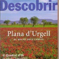 Coleccionismo de Revistas y Periódicos: DESCOBRIR CATALUNYA. Nº 36, 10-2000. REVISTA MENSUAL O BIMESTRAL. EN CATALÀ. Lote 11539650