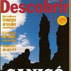 Coleccionismo de Revistas y Periódicos: DESCOBRIR CATALUNYA. Nº 24, 09-1999. REVISTA MENSUAL O BIMESTRAL. EN CATALÀ. Lote 11547025