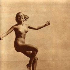 Coleccionismo de Revistas y Periódicos: BAILARINA 1933 HOJA REVISTA. Lote 11465535