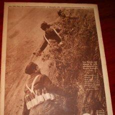 Coleccionismo de Revistas y Periódicos: CRONICA - 20 DICIEMBRE 1936 - PORTADA: LOS HÉROES QUE SIGUEN LA RUTA INICIADA POR ANTONIO COL, ...... Lote 27885833