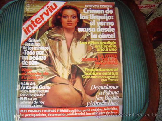 Revista Interviu Nº312 1982 Crimen De Urquillo Sold Through