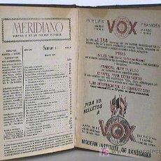 Coleccionismo de Revistas y Periódicos: TOMO REVISTAS MERIDIANO. SINTESIS PRENSA MUNDIAL. 1950. Lote 24220668
